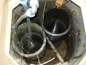 Sump installed in Milton soakaway